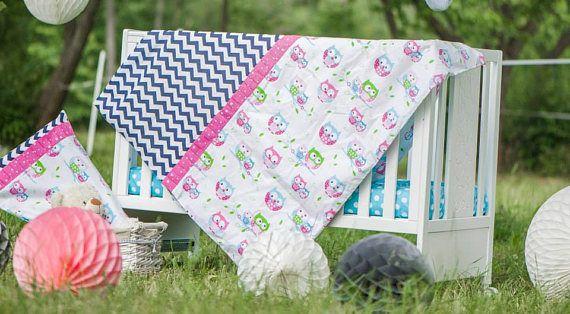 Nursery Bedding Set-Baby Bedding Set-Handmade Baby Bedding-Cot