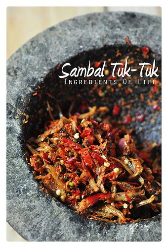 sambal tuk-tuk by ioflife | Flickr - Photo Sharing!