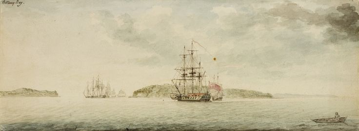 "statelibrarynsw: "" On this day, 18th January 1788, the First Fleet of convicts arrived at Botany Bay, (New South Wales). In October 1786, Arthur Phillip was appointed Governor-designate of the..."