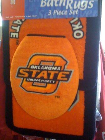 OSU Bathroom Rug Set