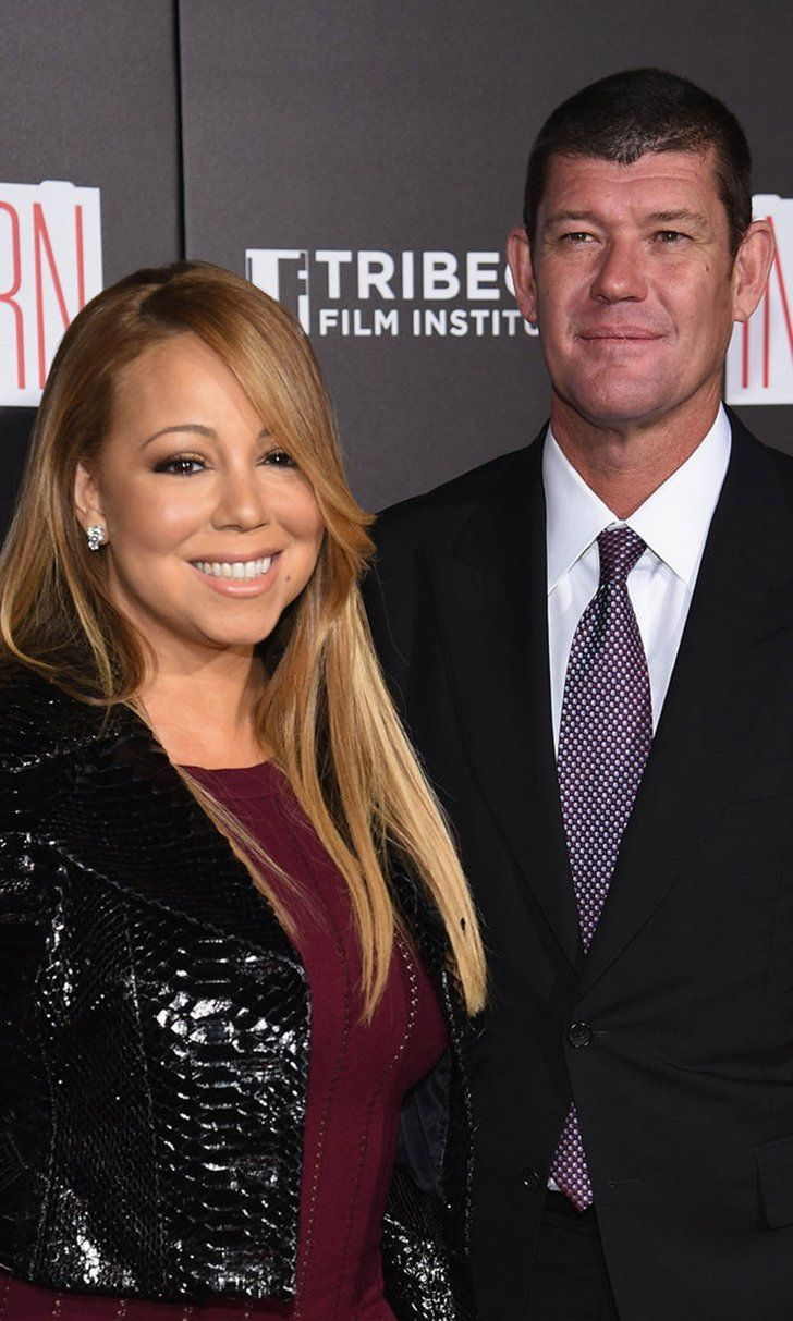Pin for Later: Mariah Carey Is Engaged to James Packer!