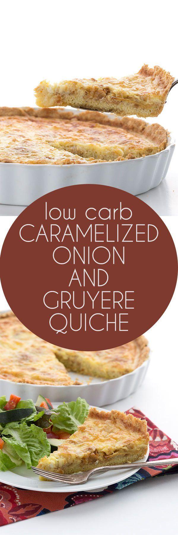 Keto Caramelized Onion Quiche