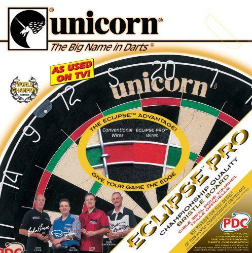 Unicorn Bristle Dartboard Eclipse / Ratgeber Dartscheiben-Testsieger.de