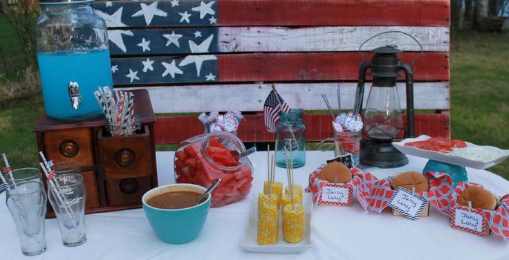Here are some of @Pear Tree Greetings favorite 4th of July party ideas! #4thofJuly #partyideas #4thofJulyfoodideas
