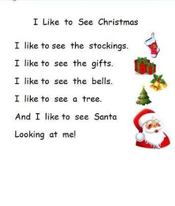 Image result for Short Christmas Poem For Kids pictures