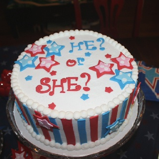 4th of july gender reveal