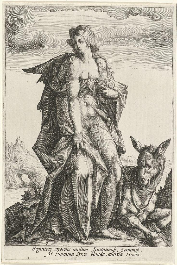 Titel   Luiheid (Acedia) and De zonden | Matham, Jacob De zonden  Luiheid (Acedia) and De zonden | Matham, Jacob