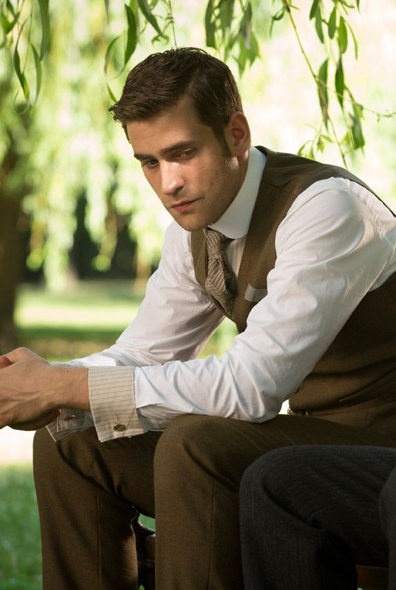 Oliver Jackson Cohen as Harker in Episode 8 of Dracula - sky.com/dracula
