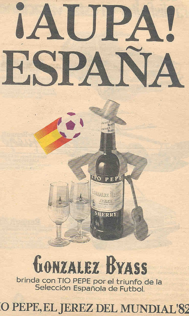 Tio Pepe en el Mundial 1982.