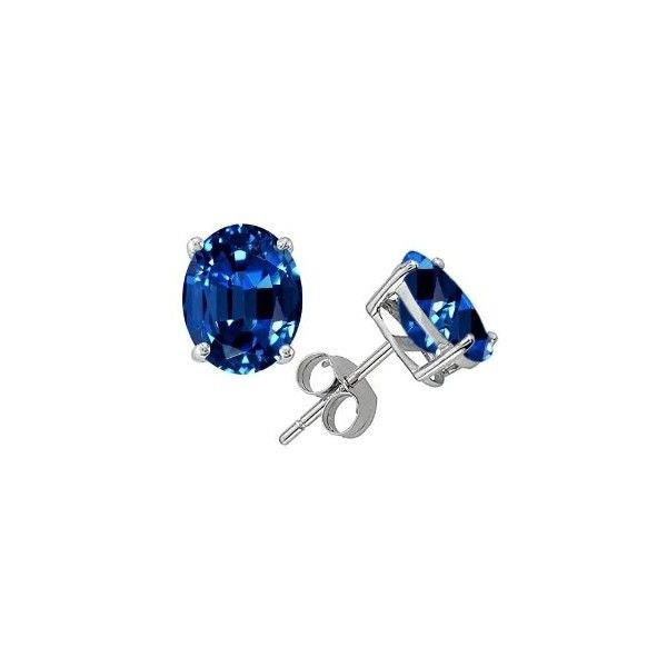 Sapphire Jewelry for September ❤ liked on Polyvore