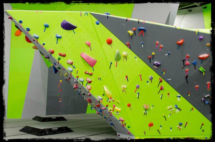 Spooky Nook Sports Indoor Climbing Boulder
