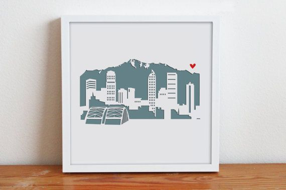 Denver, Colorado – Personalized Gift or Wedding Gift