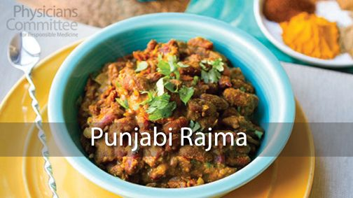 Punjabi Rajma made with kidney beans.  One cup of kidney beans has more than the recommended daily amount of folic acid. Folic acid, a B vitamin, helps the body build and maintain DNA and helps make new cells, especially red blood cells