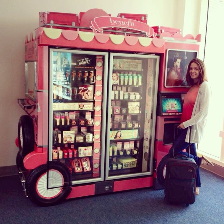 Benefit Cosmetics in the Savannah GA airport! Awesome!!!