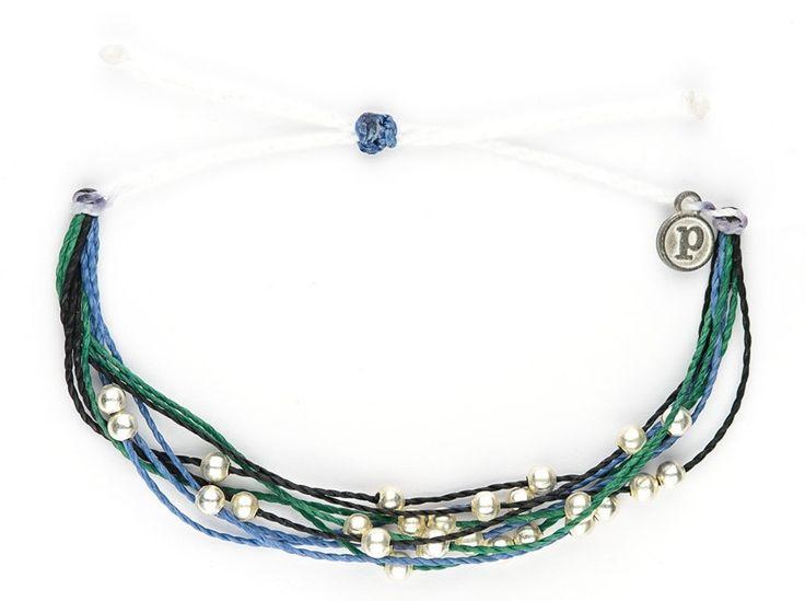 Bracelet De Charme - Dauphins Bleus Rectangles Par Vida Vida bXmFdxCzI
