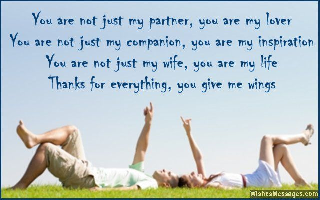 Thank You Quotes For Wife: 17 Best Images About Thank You: Quotes, Messages And Notes