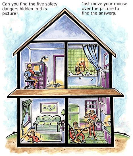 Don't forget to teach home safety! AE Kids : Indoor Electric Safety House
