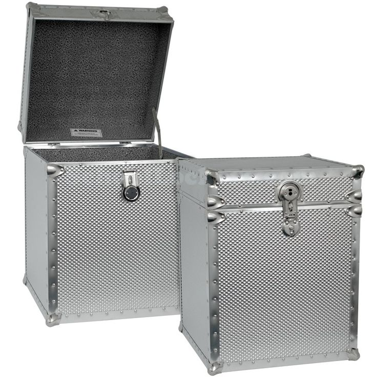 Found It At Wayfair   Embossed Steel Tall Cube Storage Trunk