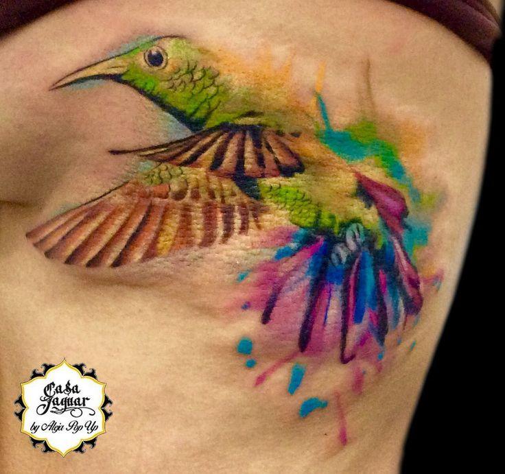 #watercolortattoo #birdtattoo