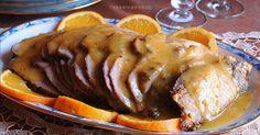 Lonza di maiale all'arancia