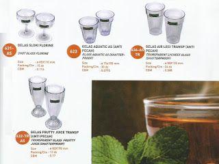 Selatan Jaya distributor barang plastik Surabaya: Gelas Es Anti pecah merk Lucky Star 620 628 630 63...
