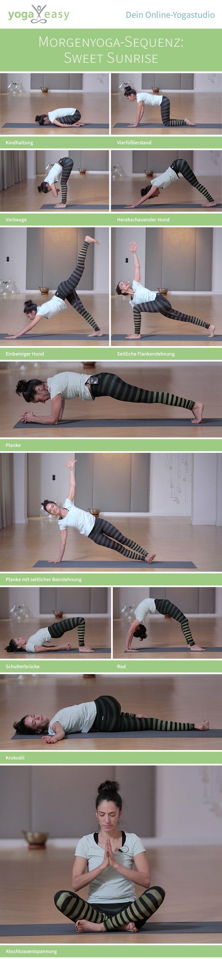 Yoga am Morgen: Diese Asana-Sequenz macht dich fit für den Tag