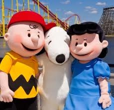 And Snoopy and Charlie Brown
