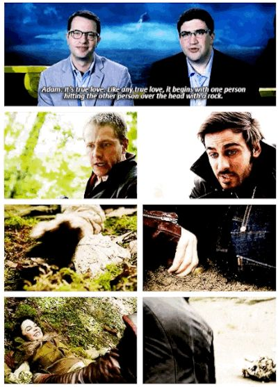 """The Kitsis/Horowitz true love litmus test.   24 Jokes Only """"Once Upon A Time"""" Fans Will Understand"""