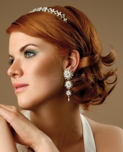 25 Best Wedding Hairstyles For Medium Length Hair Images