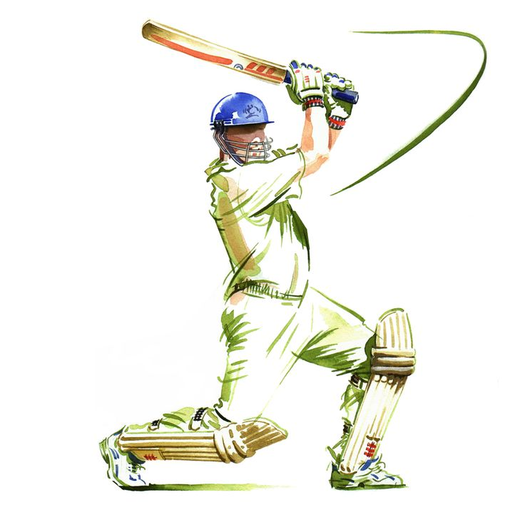 Sports cricket image