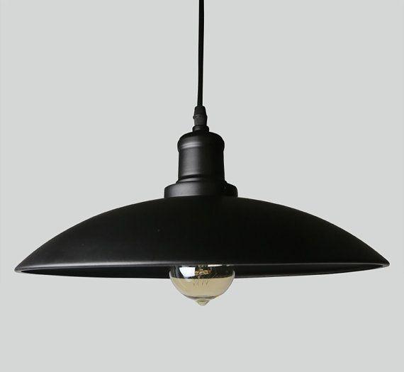 Acier style industriel - style vintage de lampe - ampoule edison - pendentif - en plafonnier - plafonnier DIY Eclairage - lampe à suspension - - à l