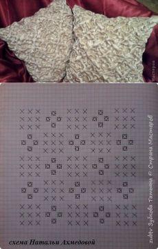Моя копилка: Декоративная подушка в технике буфы