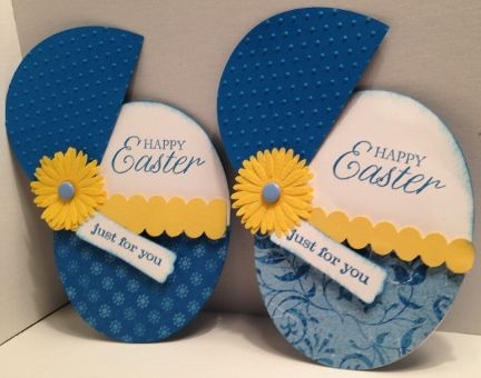 Easter Egg Surprise by ChelleSnow - Cards and Paper Crafts at Splitcoaststampers