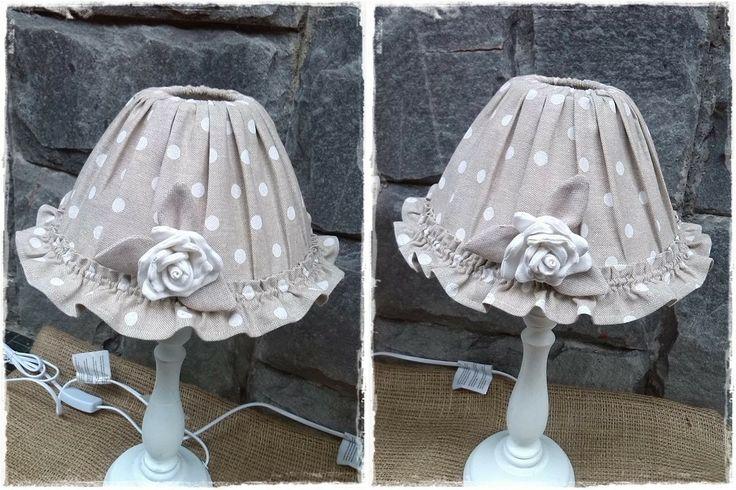lampade shabby Lore Cucito Creativo