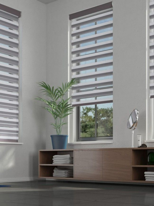 Duo Roller Lustre Chrome Blind