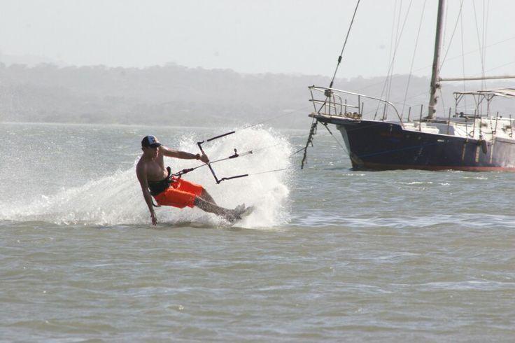 Kitesurf en Puerto Velero