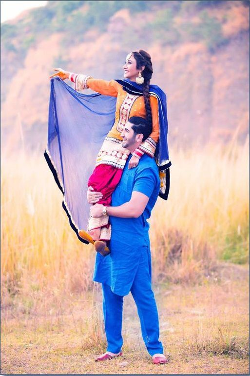 Punjabi Couple Pre Wedding Poses Wedding Photoshoot
