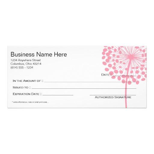 16 best Gift certificate images on Pinterest Gift certificates - fresh younique gift certificate template