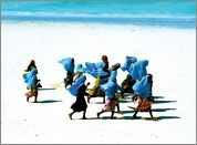 arte quadri moderni vendita online quadri tela donne in spiaggia