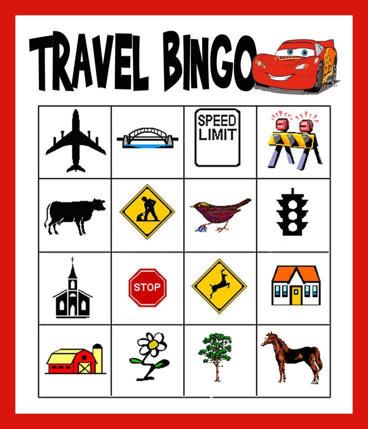 Great Road Trip Ideas: Best 25+ Travel Bingo Ideas On Pinterest