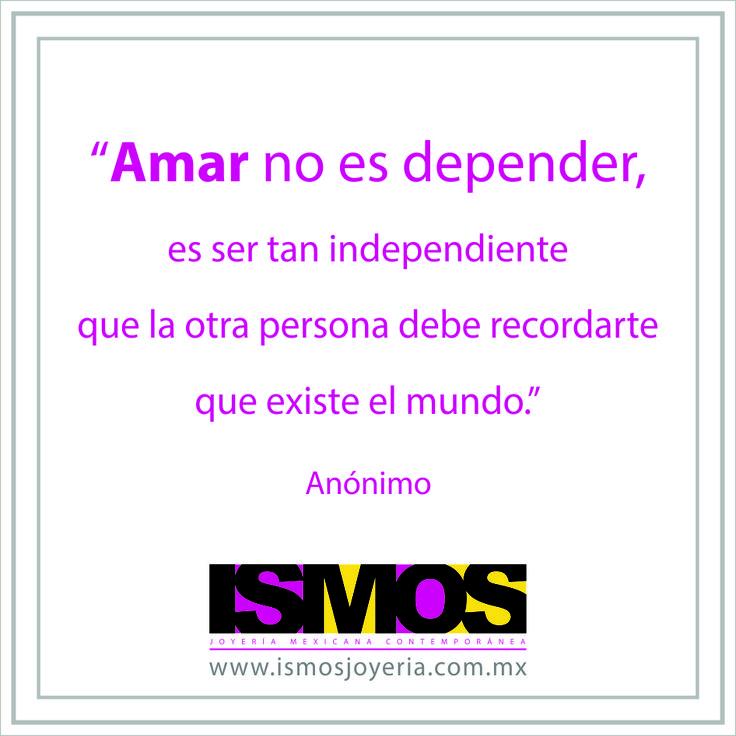 #Amor #Independencia #ismosjoyeria
