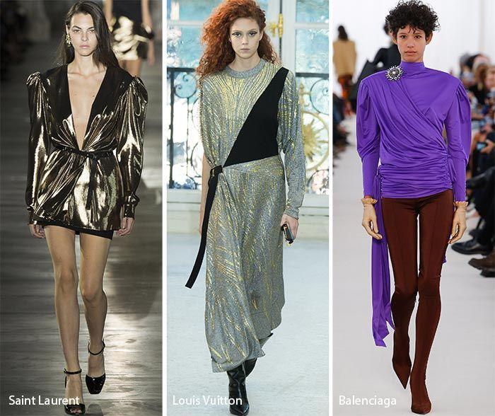 Paris Fashion Week Spring 2017 Fashion Trends: 1980s/ Eighties Fashion  #trends #runway #fashiontrends