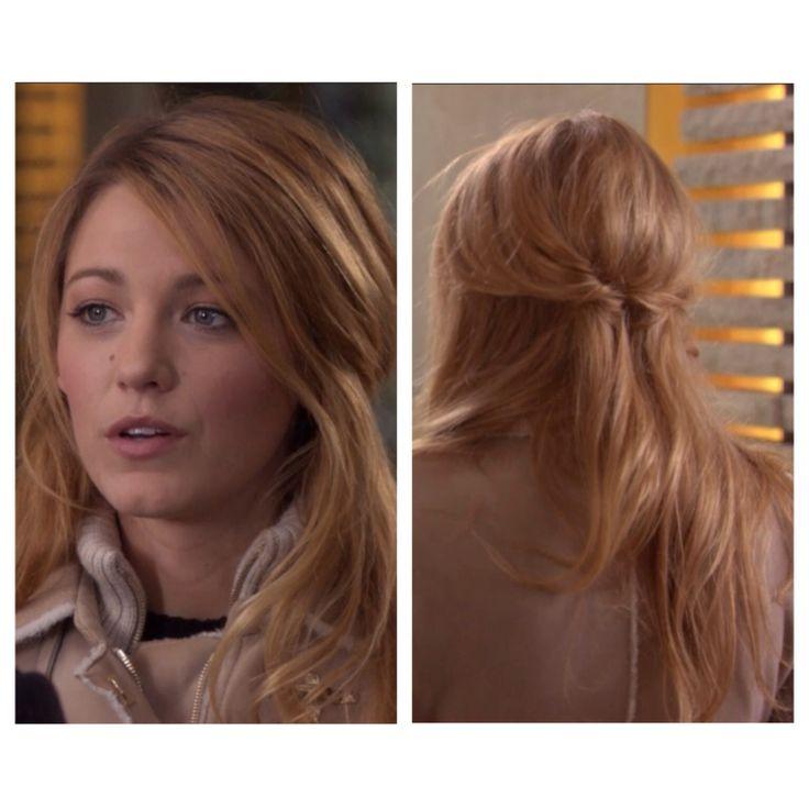 pics for gt serena gossip girl updo hair