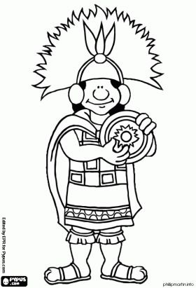 inkas coloring pages The Inca