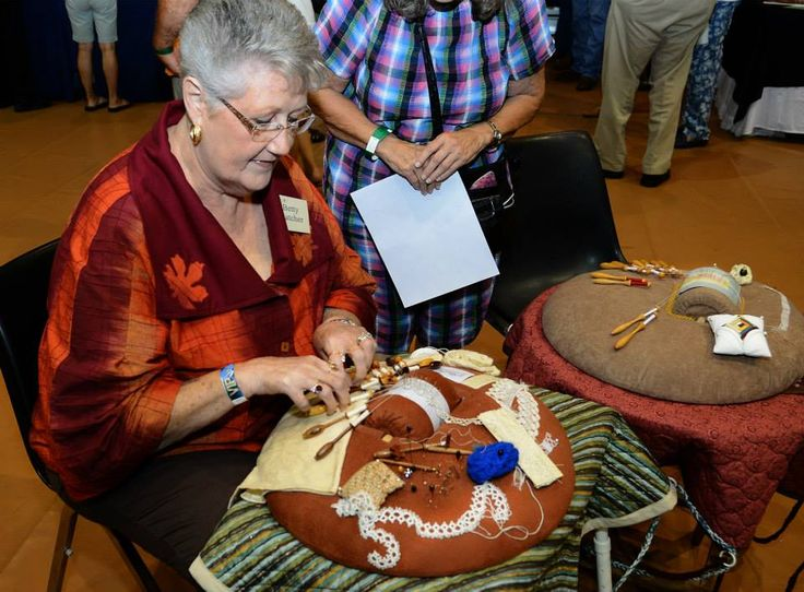 Betty Hatcher, bobbin lace