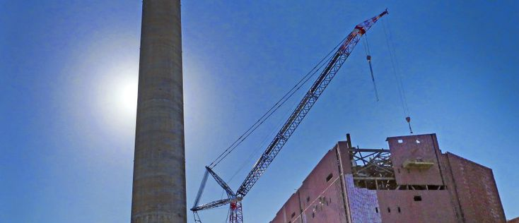 Power Station Demolition Update | Port Taranaki