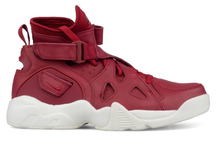 The Nike Air Unlimited Is Treated In Noble Red