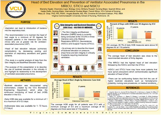 Examples Of Undergrad Research Vcu Office Of Research And