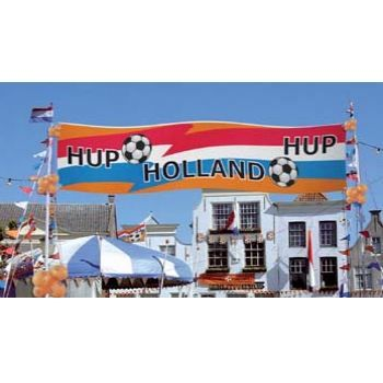 Voetbal banner http://www.happy-party.nl/