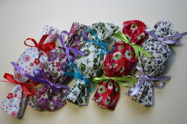 Tuto bonbons fleurs de lavande